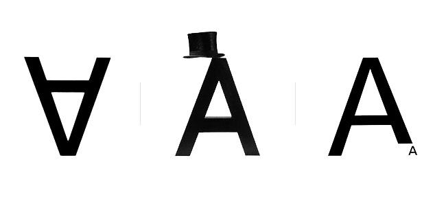 A, poema visual