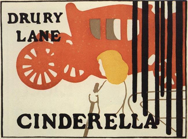 Beggarstaff Brothers. Cinderella, 1895
