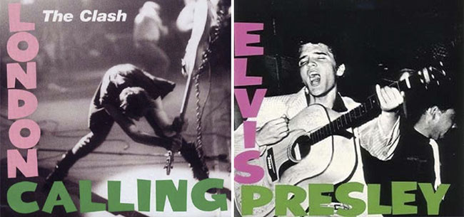 The Clash. London Calling, 1979 // Elvis Presley, 1956