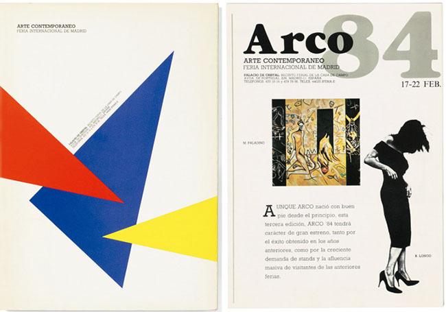 Catálogo para Arco, 1984