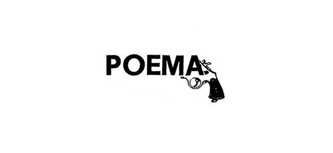 Pistola, poema visual