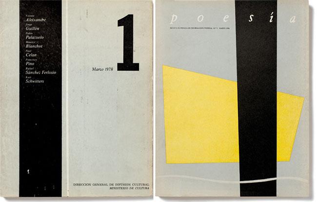 Nº1 Poesía. Marzo 1978