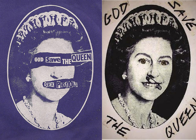 Portada Sex Pistols «God Save The Queen»